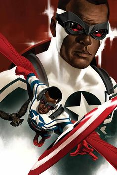#Captain #America #Fan #Art. (CAPTAIN AMERICA: SAM WILSON #3 Cover) By: DANIEL ACUñA. (THE * 5 * STÅR * ÅWARD * OF: * AW YEAH, IT'S MAJOR ÅWESOMENESS!!!™) [THANK U 4 PINNING!!<·><]<©>ÅÅÅ+(OB4E)