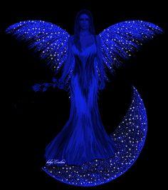 Gute Nacht. Schlaf gut mein Engel ohne Flügel