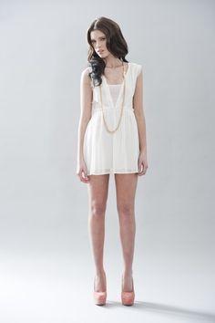 ivory mini dress
