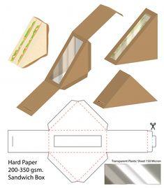 Box Packaging Templates, Packaging Design, Diy Gift Box, Diy Box, Cardboard Crafts, Paper Crafts, Paper Box Template, Printable Box, Box Patterns