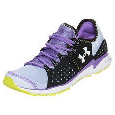 Women's Under Armour Micro G Mantis Running Shoes| FinishLine.com | Purple/Black/Mystic
