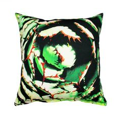 Green Spiral Cushion Cover – 50x50cm from The Clearance Sale - R169 (Save 23%)