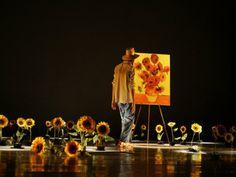 Obra de Van Gogh Tarsila e Kandinsky ganha vida em espetáculo