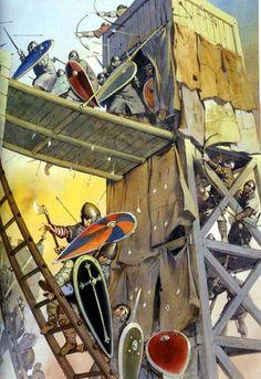 Siege tower, Jerusalem, I Crusade