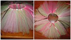 LimeGreen/Pink/lightPink Tutu
