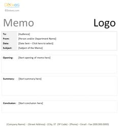Memo Templates For Word Business Memo Template In A Professional Format  Memo Templates .