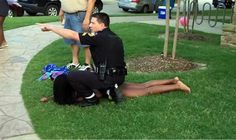 High schoolers of all races, here's a tip on how not to get your butt kicked by police