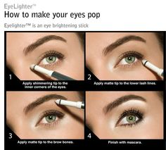 How to Make Your Eyes Pop With Light Makeup| Picture Tutorials