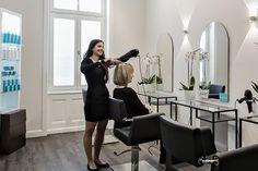 Der MYLOMA Friseur Haarstudio Rosa Uomo & Donna in Wiesbaden
