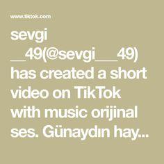 sevgi __49(@sevgi___49) has created a short video on TikTok with music orijinal ses. Günaydın hayırlı sabahlar 🌹🌹🌹 Musica
