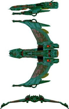 The Ship of the Day Thread. Page 8: Klingon Defence Forces K-18 Mave'q-Class  Scout Ship.