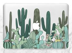 Illustration about Seamless pattern with cactus. Wild cactus forest with agave, saguaro, and prickly pear. Illustration of opuntia, doodle, cactus - 97475744 Color Vector, Vector Art, Cactus Vector, Download Digital, Macbook Case, Macbook Pro, Tapestry Wall Hanging, Cactus Plants, Cacti