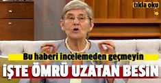 Canan Karatay ömrü uzatan besini açıkladı!