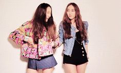 f(x) Jessica snsd Krystal *gifs ~other they were so pretty that i just had to gif them ; ;
