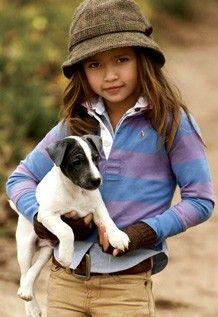Model: Gabriella Jones for Ralph Lauren Kids, 2008