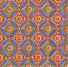 Wallpaper group  Example of an Egyptian design with wallpaper group p4m A wallpaper group (or plane symmetry group or plane crystallographic group) is a mathematical classification of a two-dimensional repetitive pattern, based on the symmetries in the pattern. Such patterns occur frequently in architecture and decorative art. There are 17 possible distinct groups