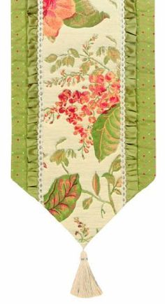 Jennifer Taylor 2795-605608 Table Runner, 16-Inch by 90-Inch, Cover 100-Percent Polyster by Jennifer Taylor. $120.38. Home decor brings classic style and luxurious comfort to the home. With braid andribbon. Table runner cover 100-percent polyster. Jennifer Taylor Table Runner, 16--inch by 90-inch, Cover 100-percent polyster, with braid and tassels, Classic Style, home-decor-products. Save 38% Off!