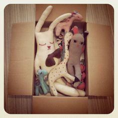 Handmade toys by Polkaros.