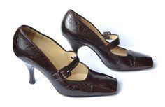 DOLCE & GABBANA women's pumps / shoes / burgundy by MySunnyStore, $175.00