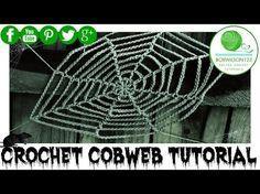 Crochet Cobweb Tutorial - YouTube