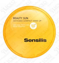 SENSILIS BEAUTY SUN ANTIAGING SPF 50+ MAKE UP COMPACTO GOLDEN 10 GR