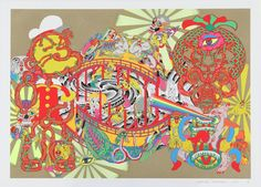 Lost and Wandering Bridge Series_5   Keiichi Tanaami, Lost and Wandering Bridge Series_5 (2011)