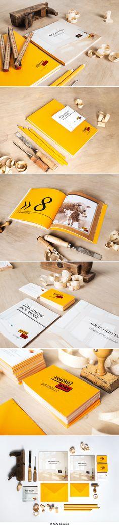 DASUNO // Client: Hrachowina // Corporate Design // 2005-2013 Corporate Design, Theory, Science, Brand Design, Brand Identity Design