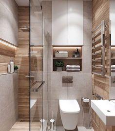 WC & Badezimmer Renovierung - Koupelny - # Renovierung - home design - Small Bathroom Colors, Modern Bathroom Design, Bathroom Interior Design, Washroom Design, Toilet And Bathroom Design, Very Small Bathroom, Modern Small Bathrooms, Small Space Bathroom, Toilet Design