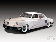I wouldn't have thought white would be my color on a Tucker auto.  Tucker automobile | The Tucker Car — Collecting Tucker Car Jars.
