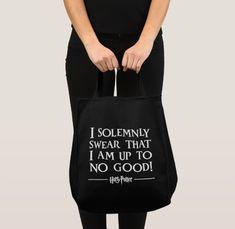 "Primark Harry Potter /""I Solemnly Swear That I Am Up to NO GOOD/"" Bag Clutch"