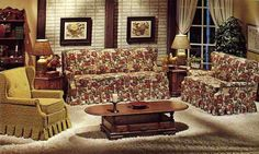 Image result for 80's living room