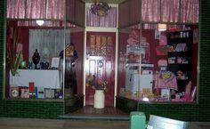 Ariah Park. Vintage display windows.