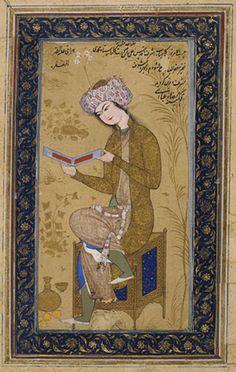Reza Abbasi miniature