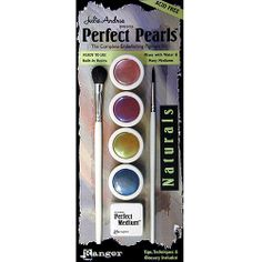 Pearlescent archival pigments Sewing Crafts, Diy Crafts, Amazon Art, Sewing Stores, Ranger, Craft Supplies, Embellishments, Eyeshadow, Kit