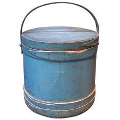 Painted Firkin (Pantry Box). $1475 asking price.