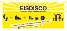 """Der Sieger ist """"Gelb""""! #Gmund #Tegernsee #Eisdisco #Flyer - www.studio-tegernsee.de"""