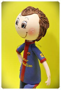 Xeitosas : Fofucha Iniesta F.C. Barcelona