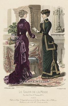 Le Salon de la Mode 1880