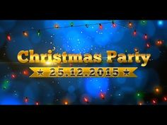 Christmas Party | After Effects template