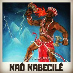 Kaô Kabecilê Xangô! Salve o senhor das pedreiras! Shango Orisha, African Art, Thunder, Comic Books, Wonder Woman, Superhero, Comics, Fictional Characters, Lord