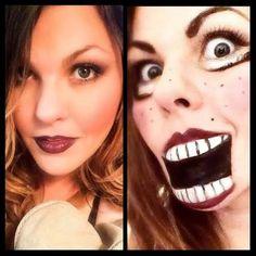 Hope's Beauty Bar: Ventriloquist Doll Halloween Transformation