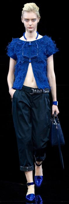 Emporio Armani spring/summer 2015 collection – Milan fashion week