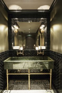"""The bathroom at The NoMad Bar. Photo: Frances F. Denny<br /><br /><a href=""""/content/new-in-new-york"""" class=""""active"""">View Image Details</a>"""