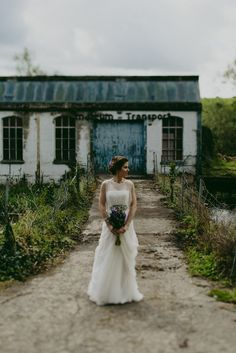 Tom+Niamh_Married from Bristol ♡ JPBride Jesus Peiro Wedding Dresses