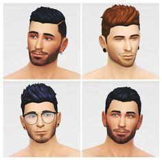 Four models at LumiaLover Sims via Sims 4 Updates