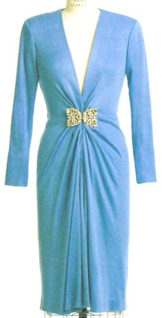 Vogue  Dress Pattern 8578 Claire Shaeffer RARE by SewReallyCute, $20.00