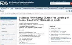 FDA Guidelines for Gluten Free Labeling are Frightening for Celiacs ~ comments open today, make your voice heard!