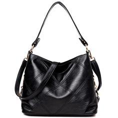 Women Luxury Handbags Ladies Shoulder Bag Leather Totes For Women Female Tote Sac A Main Mochila Feminina Bolsas Channel Casual Bags, Leather Shoulder Bag, Shoulder Bags, Leather Handbags, Leather Purses, Backpack, Tote Bag, Crossbody Bags, Leather Crossbody