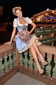 Giulia Siegel beim Oktoberfest 2015