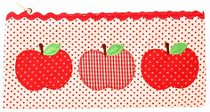Apple trio pencilcase: great for storing bits & pieces xo Little Girl Rooms, Little Girls, Red Rooms, Gifts For Girls, Apples, Pencil, Inspiration, Biblical Inspiration, Toddler Girls